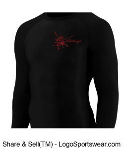 CrossSwords Fury (Compression Long Sleeve) Design Zoom