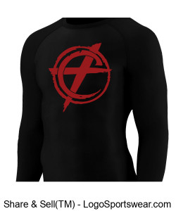 CrossSwords Way (Long Sleeve Compression) Design Zoom
